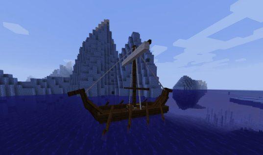 Barcos pequeños mod drakkar
