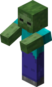 Zombie  Official Minecraft Wiki