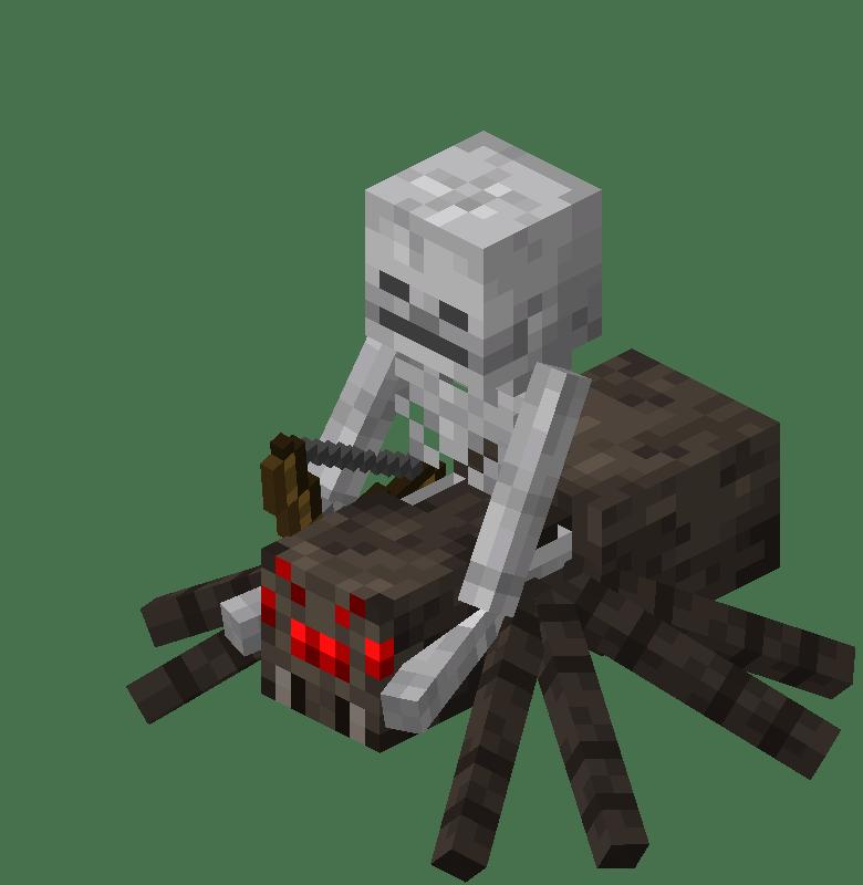Minecraft Mobs Spider Jockey