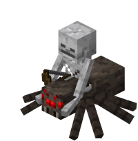 Minecraft Mobs Spider Jockey