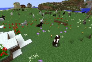 捨て馬の草原…