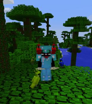Minecraft 1.12でオウムを探したり他追加要素を試してみる+ジャングルの寺院
