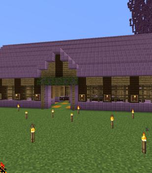 馬小屋を作りました