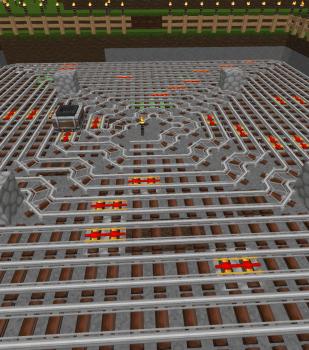 村の範囲に入ってしまった畑を移動&簡単なアイテムエレベーター
