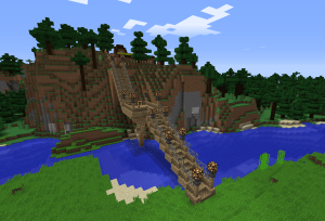 草原に行ける橋