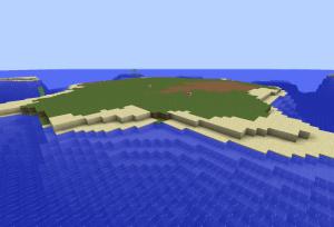 島に建てる