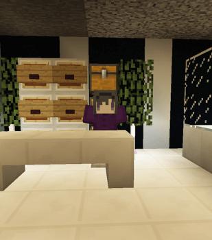 渓谷に町を作る – 宝石店