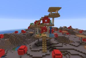 巨大キノコハウス