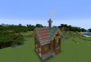 屋根を埋める
