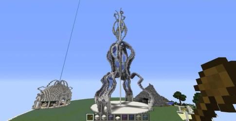 Tower of Nerd power Minecraft