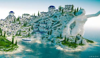 The Mountain and the Village Minecraft