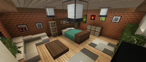 Five Interior Builds You Might Have Missed! Minecraft
