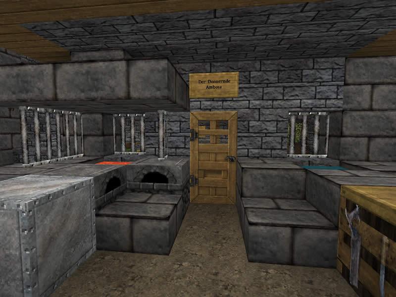 Burg Donnerklippe  Luretania  eine Minecraft Welt