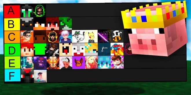 مجموعة قنوات على اليوتيوب مهمة لعشاق لعبة ماين كرافت