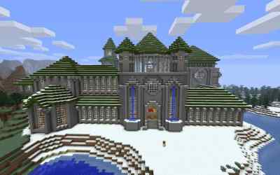 castle medieval minecraft building buildings cool palace houses amazing crafting xbox idea inc winter things pixel casas