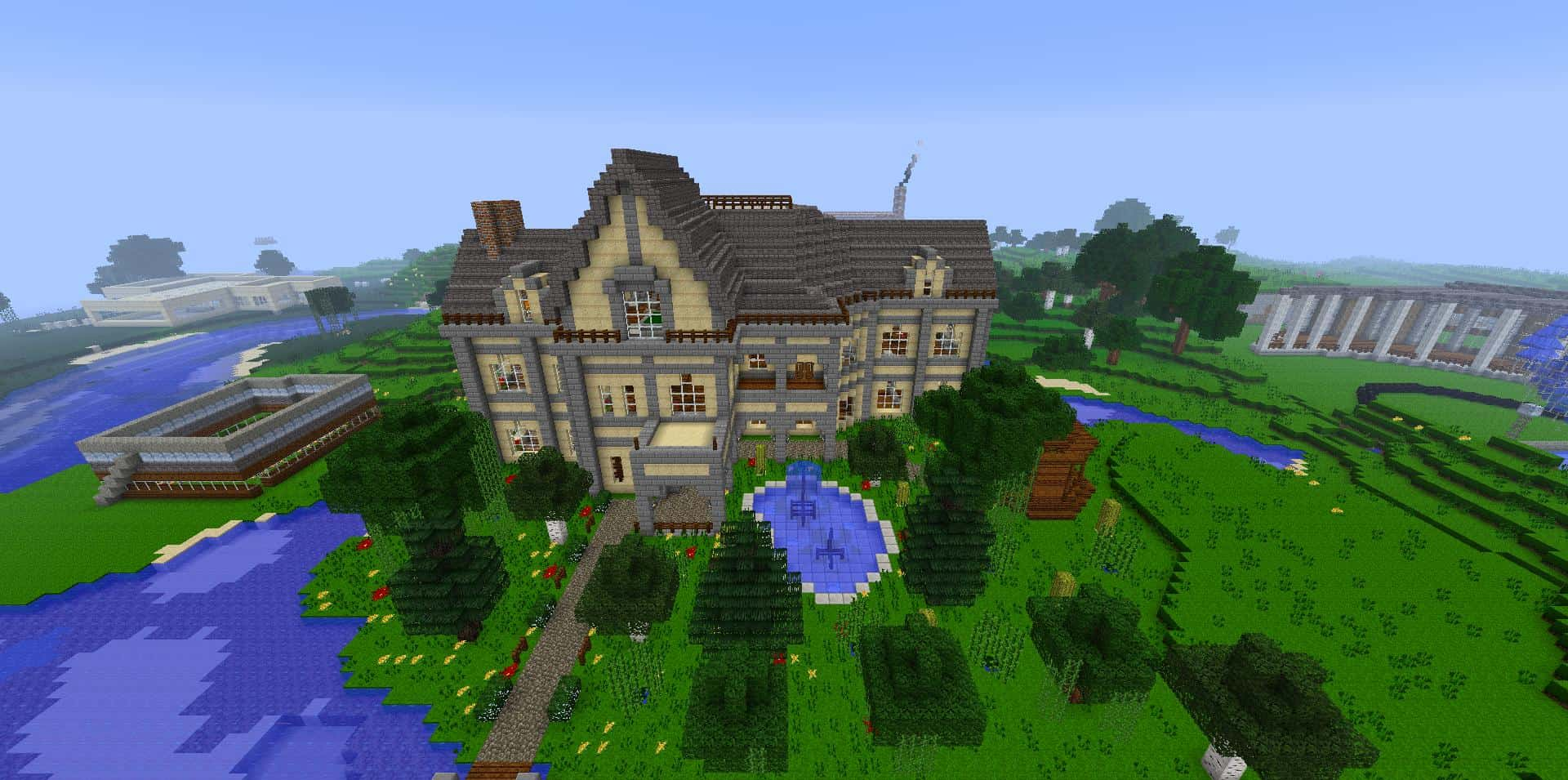 Mansion House – Minecraft Building Inc