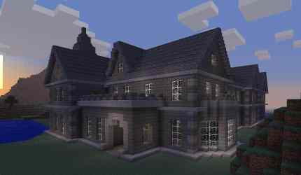 manor falcon minecraft building mansion stone houses cool castle designs buildings mount build blueprints survival idea amazing awesome xbox looking