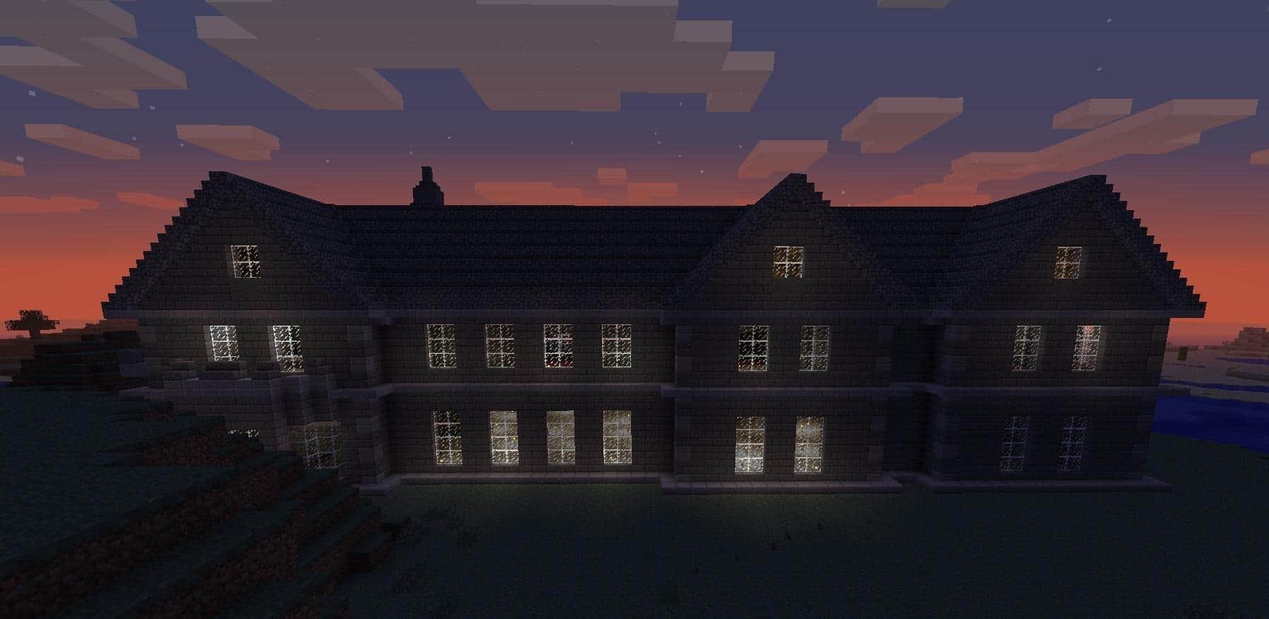 Mount Falcon Manor House  Minecraft Building Inc