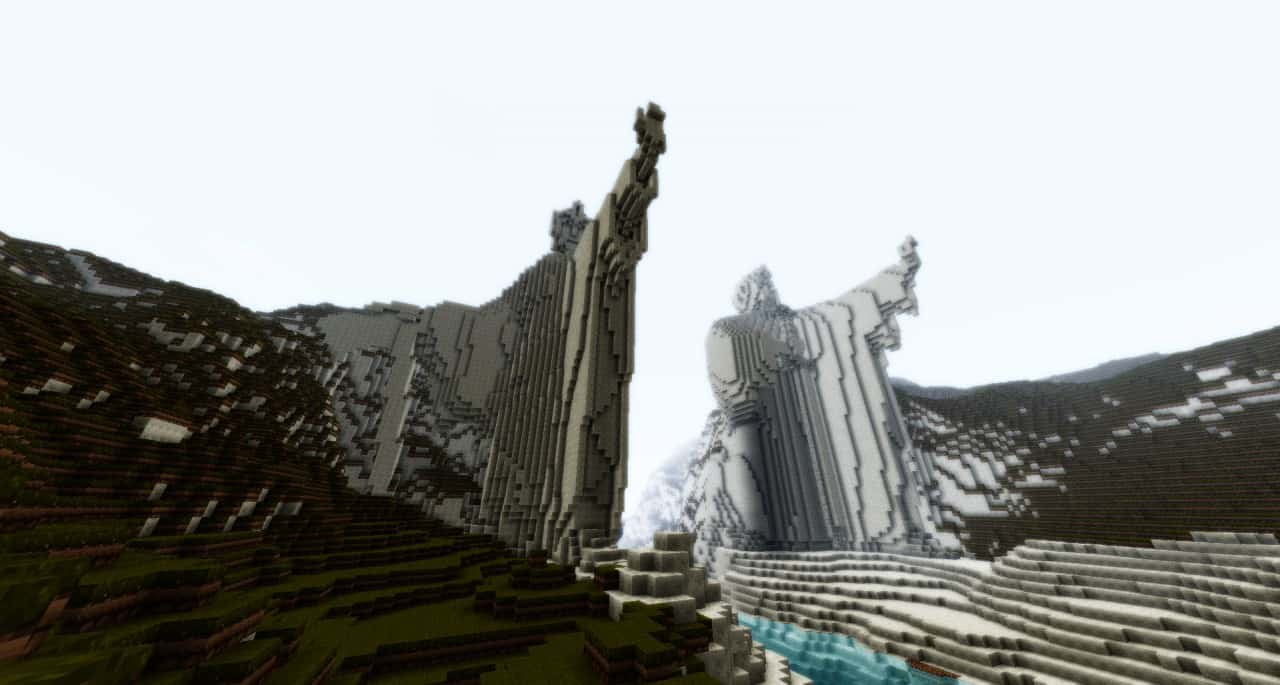 Minecraft Middle Earth 5  Minecraft Building Inc