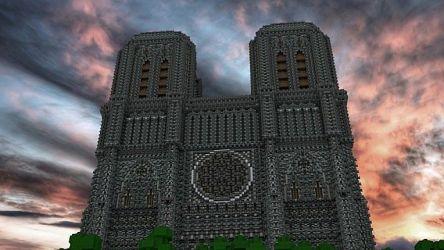 minecraft cathedral build building ratings