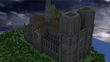 minecraft cathedral build building inc