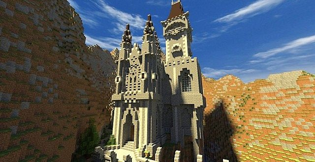 Castle  Minecraft Building Inc