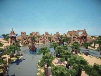 Hafsah The Desert Village Minecraft Building Inc