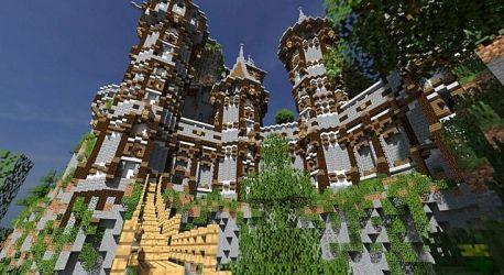 medieval village castle minecraft building castles place buildings build amazing gothic bebopvox contest 1st bmc team designs houses built pixld