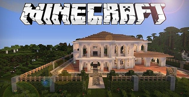 Hollywood Style Minecraft House Minecraft Building Inc