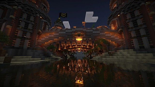 Pigron Castle  Faction Base  Minecraft Building Inc