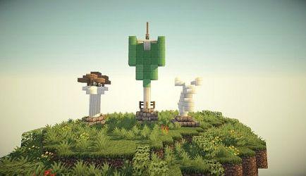 elven build minecraft pack building schematic