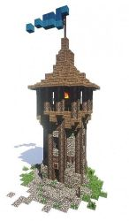 minecraft medieval bundle building build pack blueprints tower watchtower project things buildings castle designs wooden planetminecraft projects tutorial fox blueprint