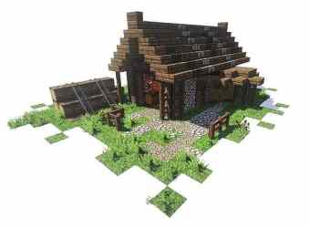minecraft medieval pack bundle building designs buildings houses castle spruce build project mc blueprints lumberjack mine minecraftbuildinginc projects creations cool