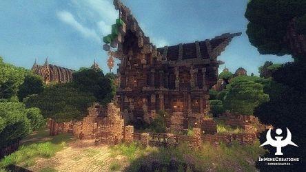 Medieval Fantasy BuildPack Minecraft Building Inc