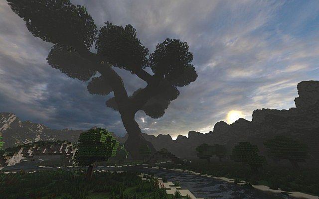 Mystical Tree  Custom Terrain  Large Custom Tree  Minecraft Building Inc