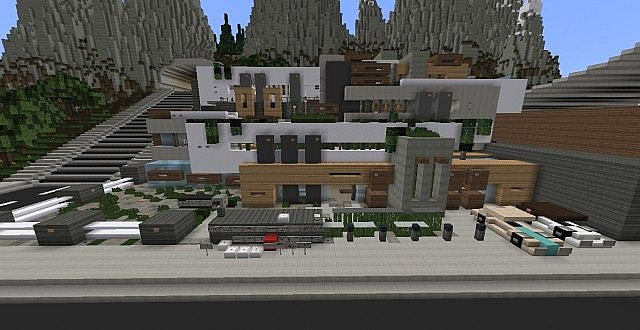 Chamonix Modern Mansion Minecraft Building Inc