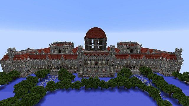 Ceretien Palace  Minecraft Building Inc