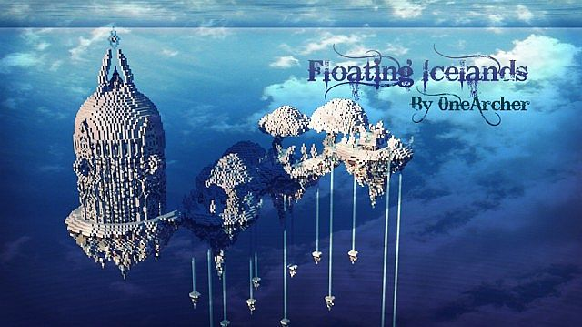 Floating Icelands – Minecraft Building Inc