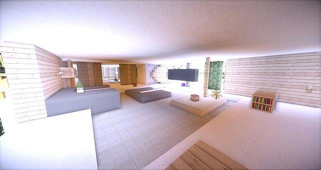 Leafv | Minimalist House - Minecraft Building Inc