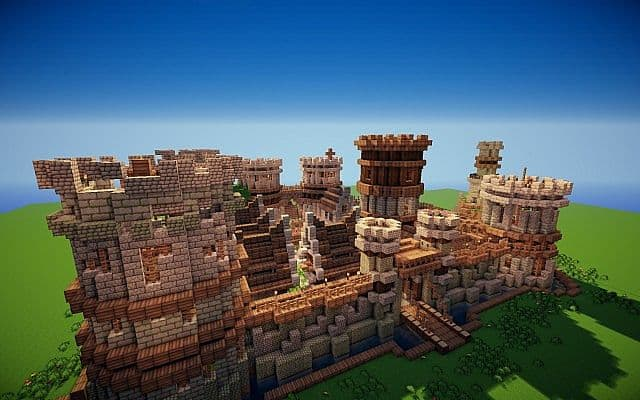Old Castle Minecraft Building Inc