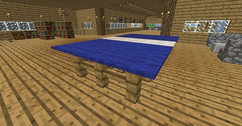 Ping Pong Table  Minecraft Building Inc