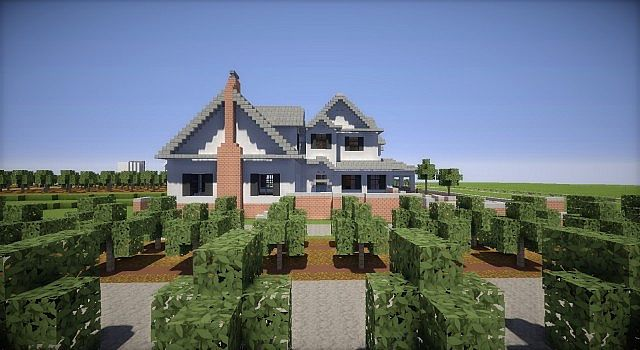 Farm House And Red Barns – Minecraft Building Inc