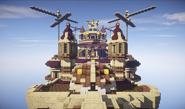 Theater Airship MS Prima Vista Minecraft Building Inc