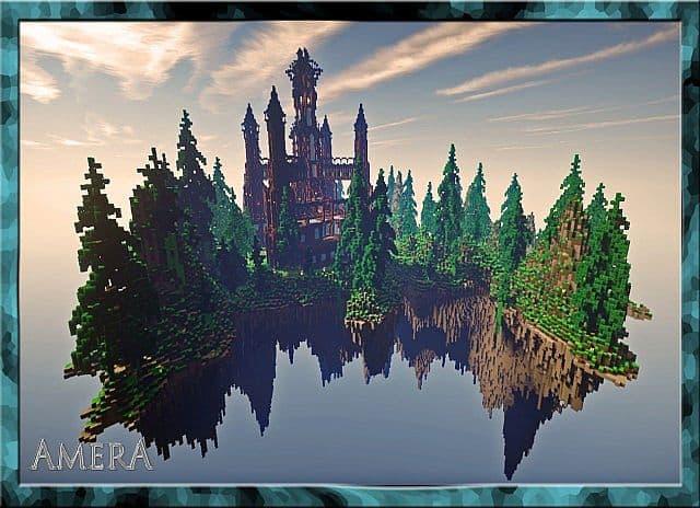 Amera Sky Vill Minecraft Building Inc