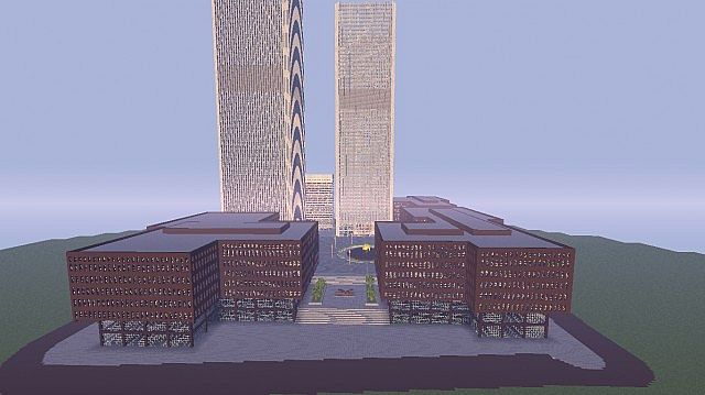 911 World Trade Center WTC Minecraft Building Inc
