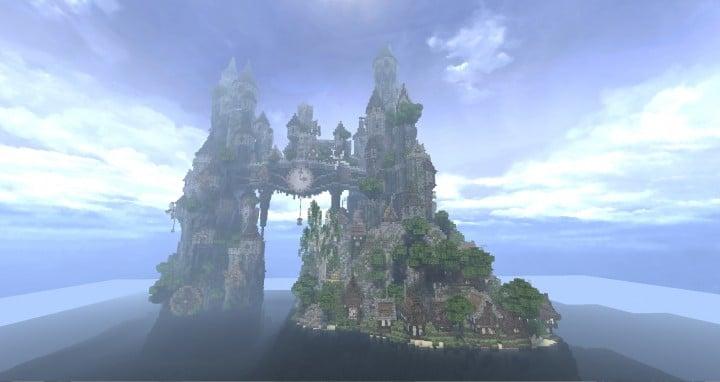 Clockwork Isle Castle Minecraft Building Inc