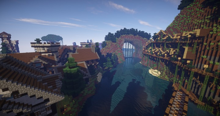 Large Medieval Village Or City Minecraft Building Inc