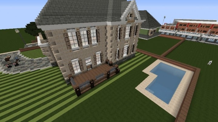 Victorian House  Minecraft Building Inc