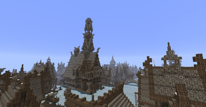 The Hobbit Esgaroth Dale Erebor Amp Ravenhill Minecraft Building Inc