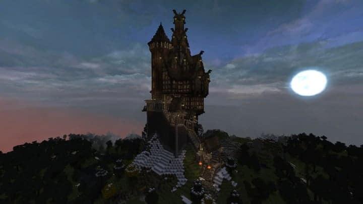 Viking Castle  Minecraft Building Inc